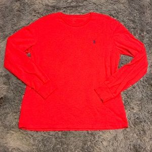Red Polo long sleeve t-shirt